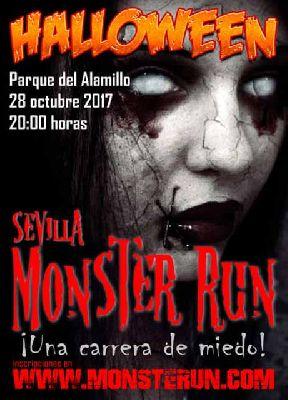 Monster Run 2017 Carrera de Halloween en Sevilla