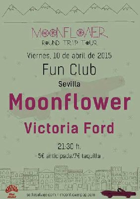 Concierto: Moonflower y Victoria Ford en FunClub Sevilla