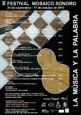 II Festival Mosaico Sonoro en Sevilla 2015