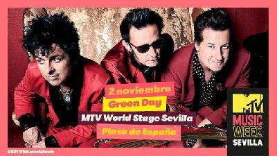 Cartel del concierto MTV World Stage en Sevilla 2019