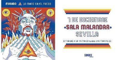 Concierto: Muerdo en Malandar Sevilla 2018