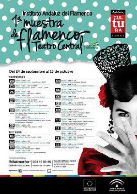I Muestra de Flamenco en el Teatro Central de Sevilla