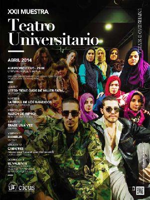 XXII Muestra de Teatro Universitario en el CICUS