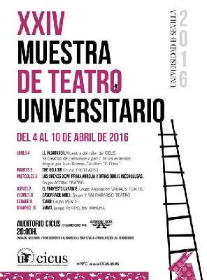 XXIV Muestra de Teatro Universitario en el CICUS de Sevilla