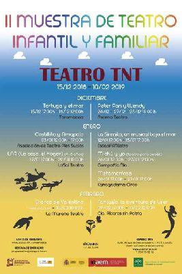 II Muestra de Teatro Infantil y Familiar en Centro TNT-Atalaya Sevilla 2018-19