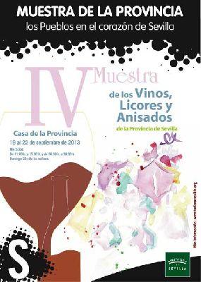 IV Muestra de Vinos, Licores y Anisados de la Provincia de Sevilla