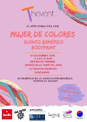 Evento benéfico Mujer de colores en Sevilla