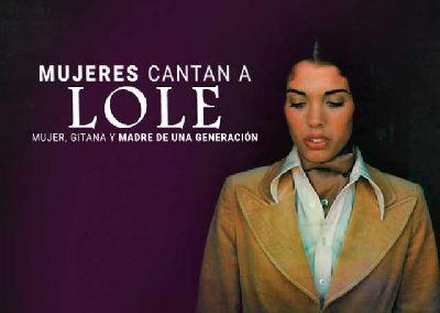 Cartel del concierto Mujeres cantan a Lole