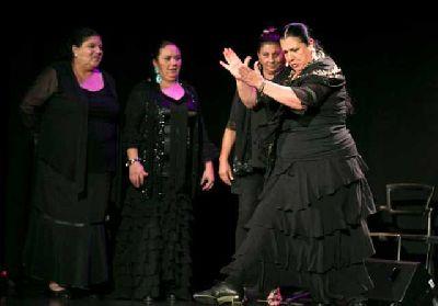 Foto del espectáculo Mujeres, gitanas y flamencas