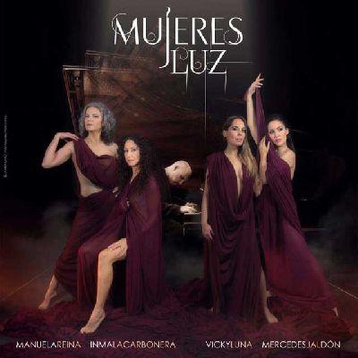 Espectáculo: Mujeres Luz en la Sala Turina de Sevilla (febrero 2016)