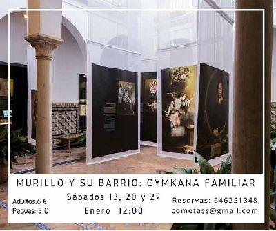 Gymkana familiar: Murillo y su barrio de Mosaiqueando en Sevilla