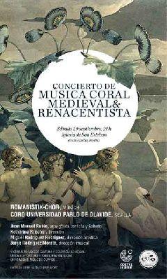 Concierto coral en la iglesia de San Esteban de Sevilla 2018