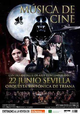 Concierto: Música de cine en el CAAC Sevilla 2017