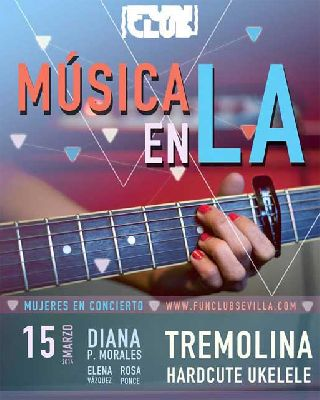 Concierto: Tremolina y Hardcute Ukelele en FunClub Sevilla