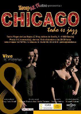 Musical: Chicago todo es jazz en Teatro Virgen de los Reyes Sevilla