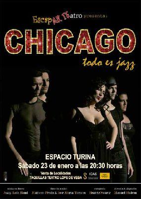 Musical: Chicago todo es jazz en la Sala Turina de Sevilla (enero 2016)