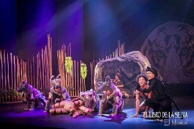 Musical: El libro de la Selva en el Cartuja Center de Sevilla 2018