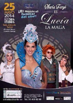 Musical infantil: Lucía la Maga en sala Joaquín Turina Sevilla