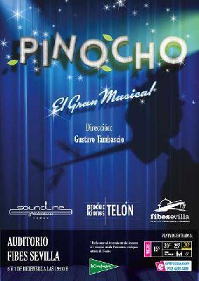 Musical: Pinocho en Fibes Sevilla