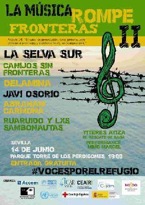 Concierto: La música rompe fronteras 2017 en parque de los Perdigones Sevilla