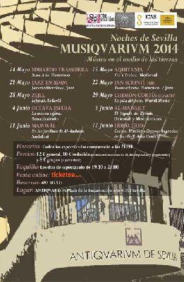 Conciertos: Musiqvarivm 2014 en el Antiquarium de Sevilla