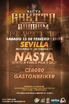 Concierto: Nasta Parlamento Tour en FunClub Sevilla