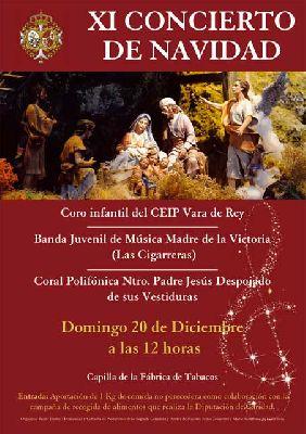 Concierto de Navidad 2015 en la capilla de la Fábrica de Tabacos de Sevilla