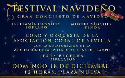 Concierto de Navidad en la Plaza Nueva de Sevilla 2016