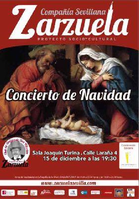 Concierto benéfico de Navidad en el Espacio Turina de Sevilla 2016