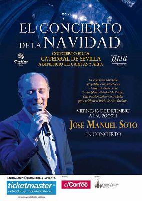 Concierto benéfico de José Manuel Soto en la Catedral de Sevilla