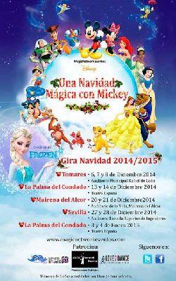 Una Navidad mágica con Mickey en Sevilla