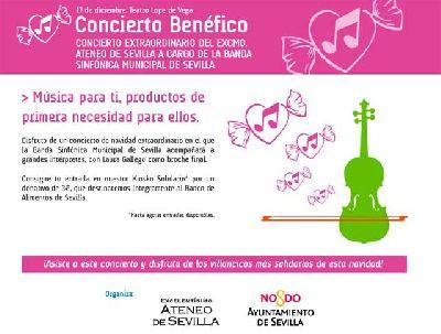 Concierto Benéfico de Navidad de la Banda Municipal de Sevilla