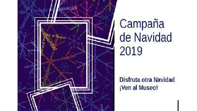 Cartel del ciclo Disfruta otra Navidad. Ven al Museo 2019-2020