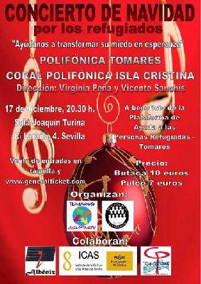 Concierto de Navidad por los Refugiados en la Sala Turina de Sevilla