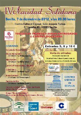 Concierto: IV Navidad Solidaria a beneficio de Cáritas