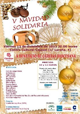 Concierto: V Navidad Solidaria a beneficio de Cáritas Sevilla