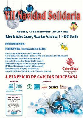 Concierto: VII Navidad Solidaria a beneficio de Cáritas Sevilla 2015