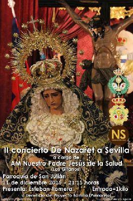 Concierto: AM Jesús de la Salud en la iglesia de San Julián Sevilla
