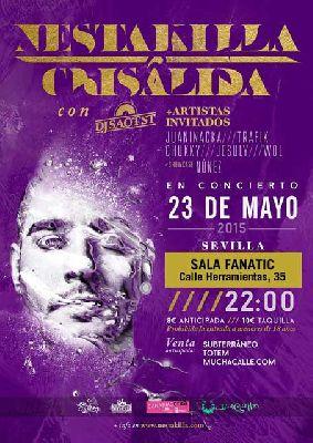 Concierto: Nestakilla presenta Crisálida en Fanatic de Sevilla