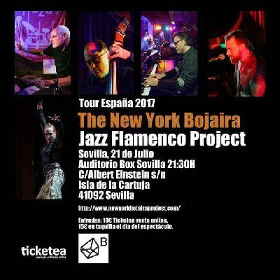 Concierto: The New York Bojaira Jazz Flamenco Project en Espacio Box Sevilla