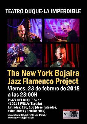 Concierto: The New York Bojaira Project en La Imperdible de Sevilla
