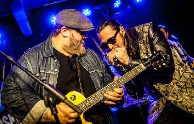 Foto promocional del grupo Nick Moss Band