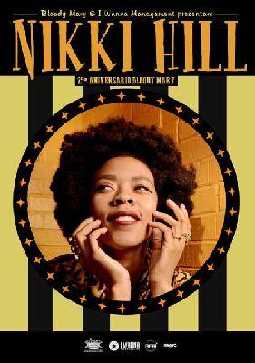Concierto: Nikki Hill en Custom Sevilla 2015
