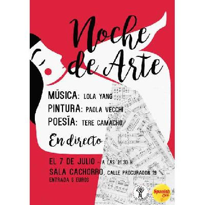 Noche de arte (Triarte) en la Sala El Cachorro Sevilla