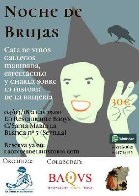 Noche de brujas por La Odisea de la Historia en Sevilla