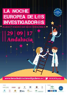 La Noche Europea de los Investigadores 2017 en Sevilla