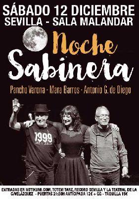 Concierto: Noche Sabinera en Malandar Sevilla 2015