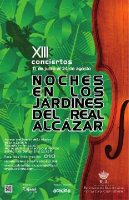 Conciertos Noches del Alcázar 2012: 20 al 24 de agosto (finaliza)