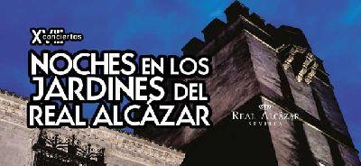 Conciertos Noches del Alcázar Sevilla 2017: 14 al 19 agosto