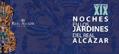 Conciertos Noches del Alcázar Sevilla 2018: 27 agosto al 1 septiembre